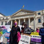 Activistas, familias y aliades hacen huelga de hambre para descongelar Ley Trans Estatal en España