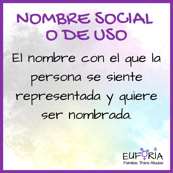 16 Nombre social o de uso
