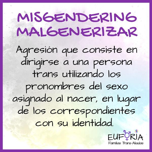 17 Misgendering - Malgenerizar