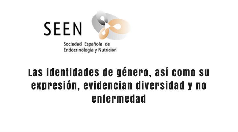 La Sociedad Española de Endocrinología y Nutrición actualiza su posicionamiento frente a las diversidad