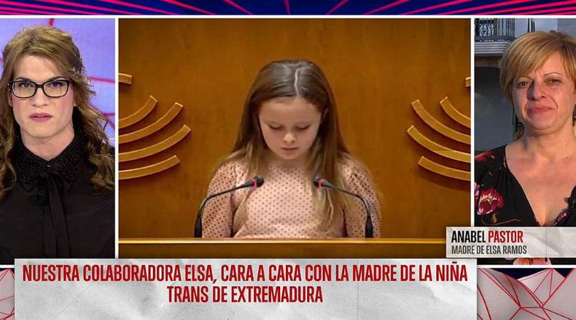 Elsa Ruíz muestra su apoyo a Elsa Ramos: «Dejad a la niña en paz. Si queréis meteros con una Elsa trans meteos conmigo»