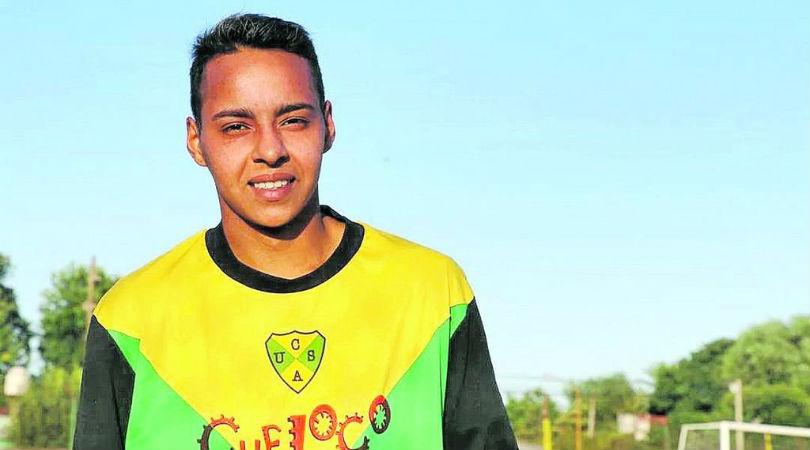 Marcos Rojo, el primer jugador trans del fútbol argentino