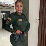 Andrea Cortés Guarín es la primera policía trans de Colombia