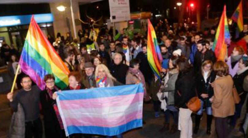 Protesta en la ciudad de Murcia contra el veto parental. Juan Carlos Caval