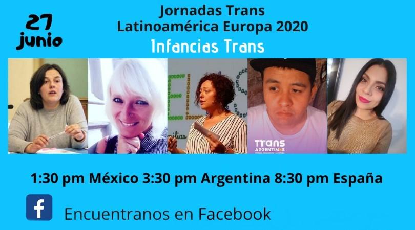 """Jornadas Trans Latinoamérica Europa 2020: """"Infancias Trans"""" - Facebook @ Facebook"""