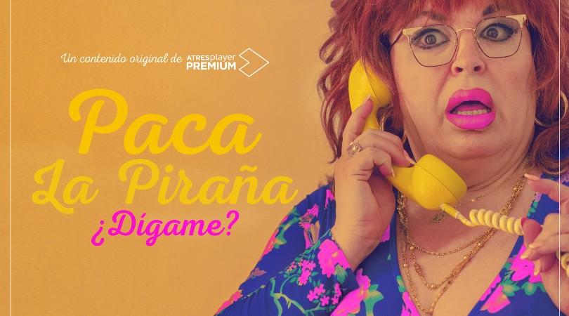 La Piraña, la nueva 'Paquita Salas' para atraer a la juventud a ATRESplayer