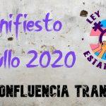 Manifiesto Orgullo 2020 – Confluencia Trans