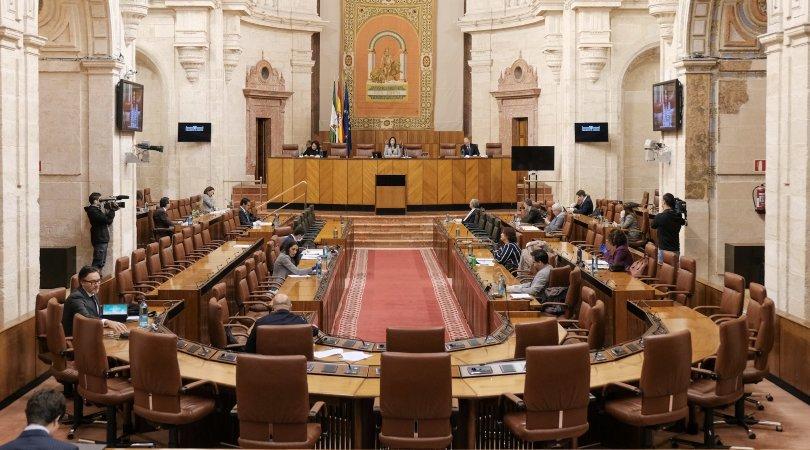 El Pleno del Parlamento andaluz durante el debate de una iniciativa - PARLAMENTO ANDALUZ