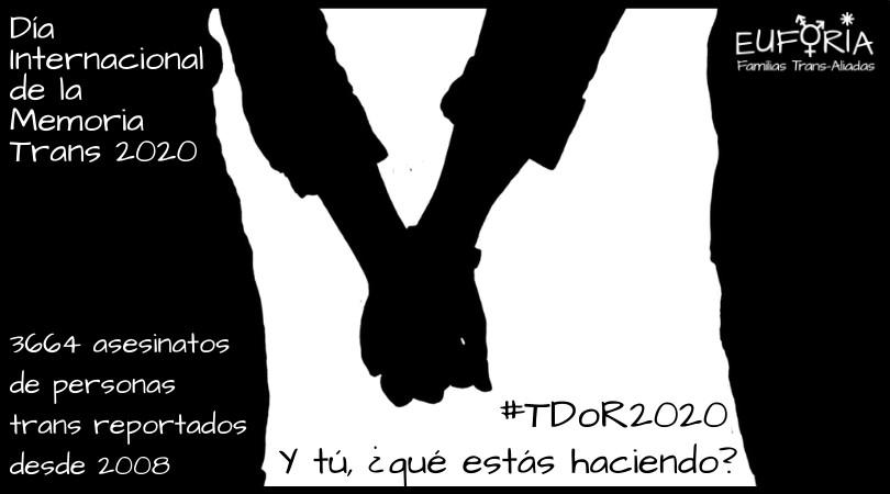 #TDoR 2020. Y tú, ¿qué estás haciendo?