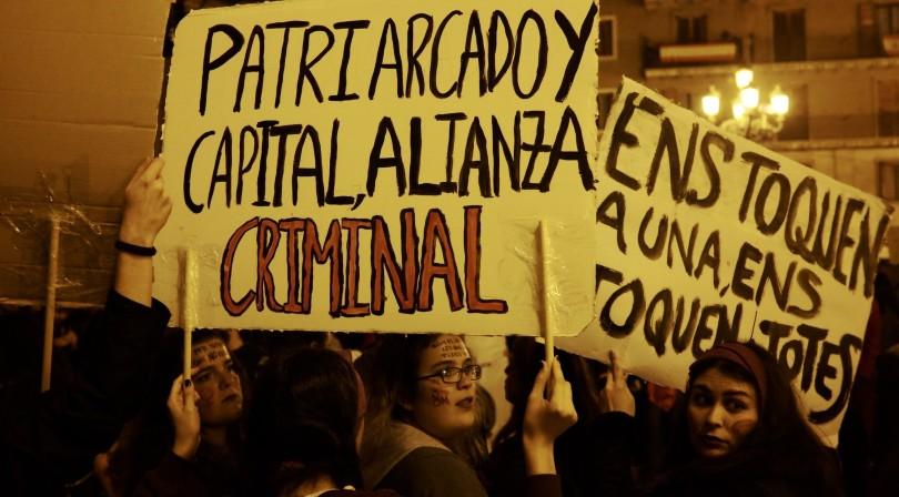 Manifestación del 8-M en Valencia