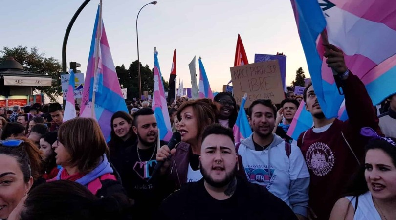 Manifestación del colectivo transexual / E. P.