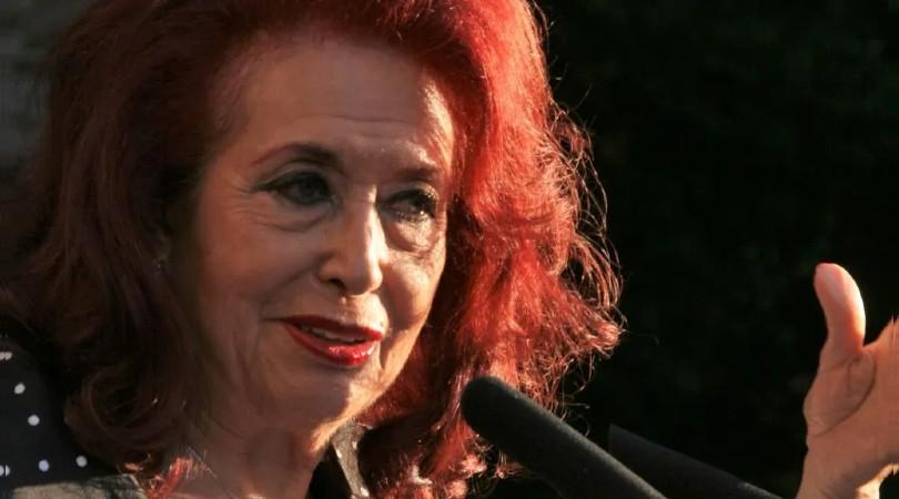 Lidia Falcón, en una imagen de archivo. EUROPA PRESS
