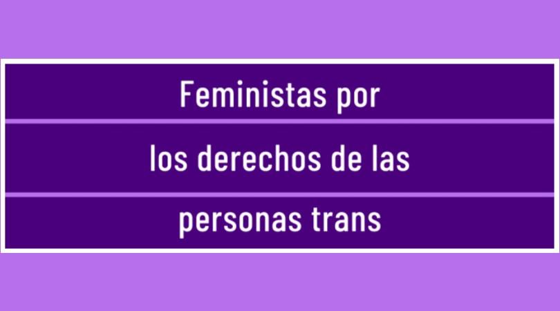 Feministas por los derechos de las personas trans