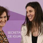 Así ha defendido el PSOE la autodeterminación de la identidad sexual que ahora cuestiona Carmen Calvo
