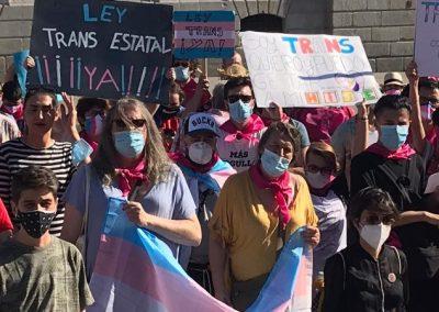 Coletivos espanhóis de trans pessoas e suas famílias começam uma greve de forme
