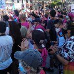 Spanische Gruppen Von Transgender-Personen Und Deren Familien Beginnen Einen Hungerstreik