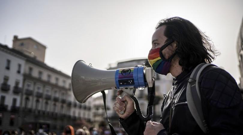 """El colectivo trans se manifiesta por la visibilidad y la regularización: """"Debemos seguir luchando para arrojar la transfobia al pasado"""""""