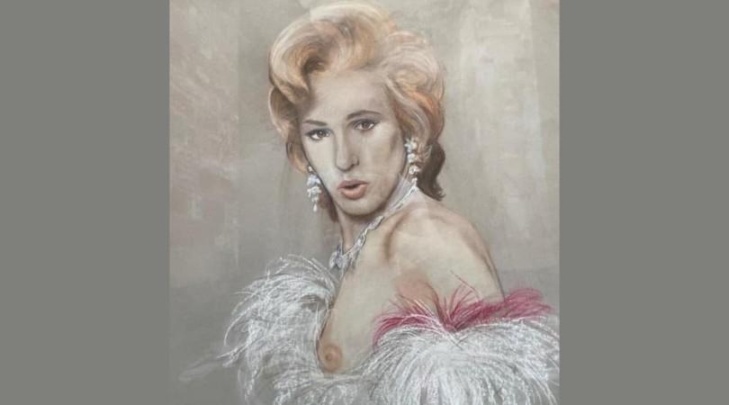 Retrato de Patricia Constant, cedido por la familia