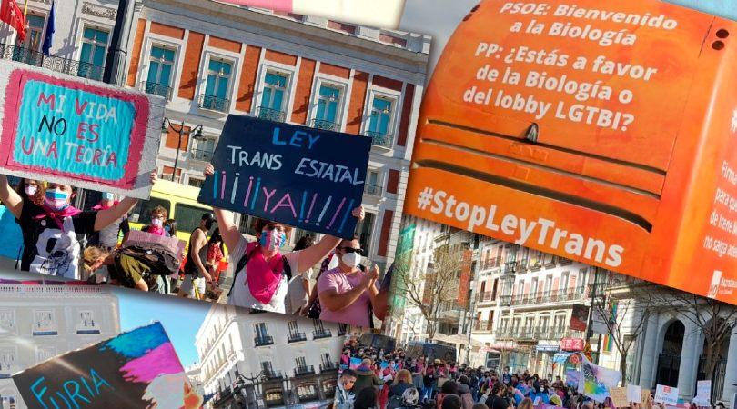 Colectivos Trans se concentrarán el 16 de abril ante la sede del PSOE para pedirle que deje poner trabas a la Ley Trans
