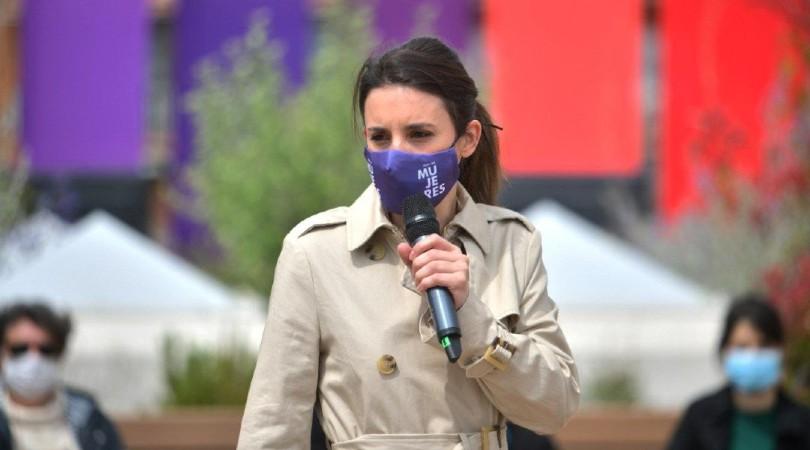 """El """"hije"""", """"niñe"""", """"todes"""" y """"escuchades"""" de Irene Montero en la campaña de Madrid"""