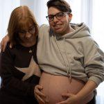 Rubén Castro, embarazado de 40 semanas: «Mi parto idílico sería en el agua y sin epidural»