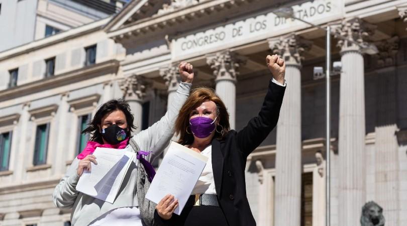 El Congreso votará el martes 18 de mayo la toma en consideración de la ley trans