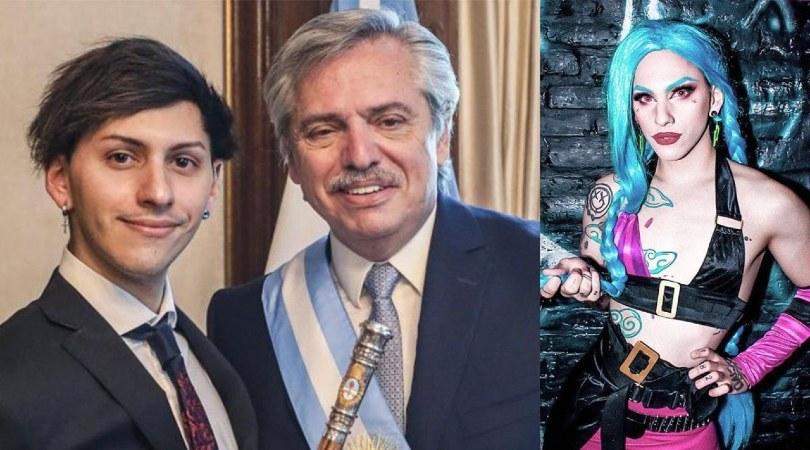 Dyzhy, le hije de Alberto Fernández (presidente de Argentina), ahora se llama Tani y ya tiene su DNI no binario