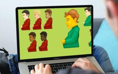 Hombres embarazados y caras que se derriten: así son los nuevos emojis de 2021